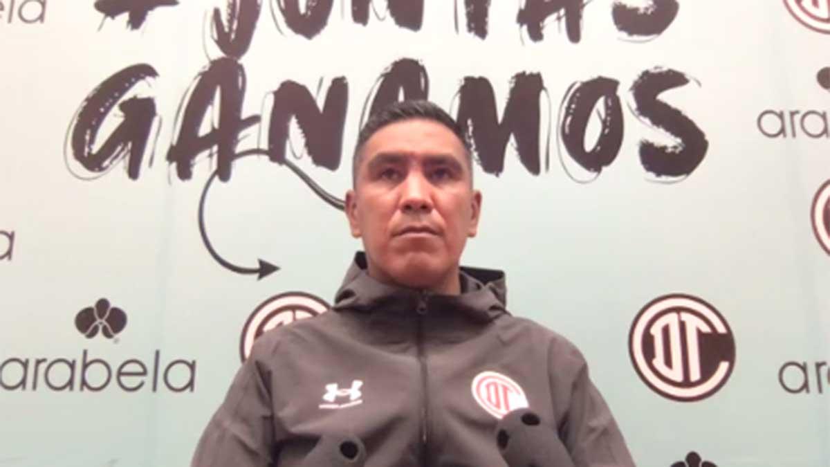 Alberto Cuate: Esperemos darle muchas alegrías a la afición