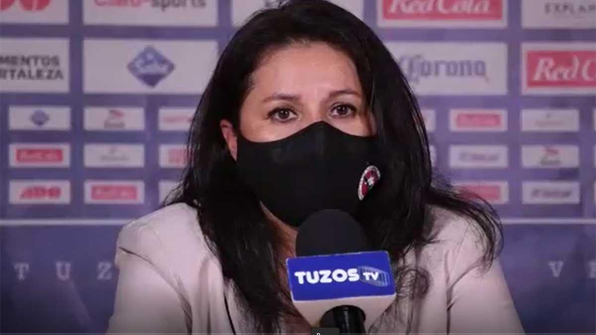 Fabiola Vargas: Tenemos objetivos altos, queremos calificar