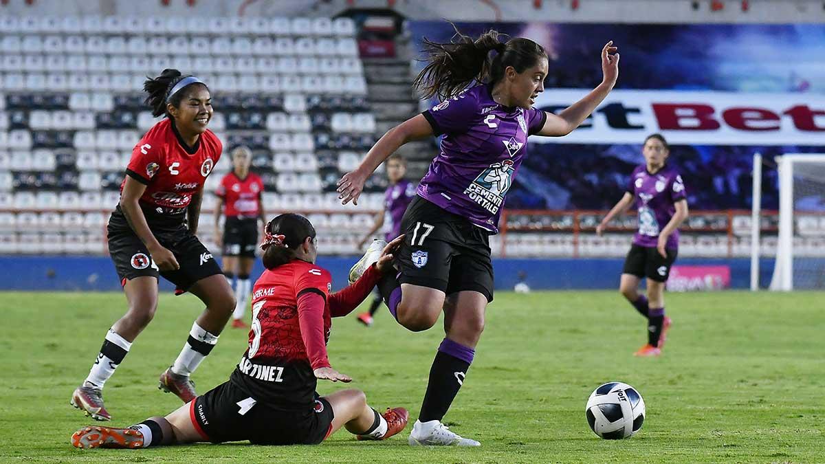 Pachuca y Xolos femenil no se hacen daño en la Jornada 1 del Apertura 2021