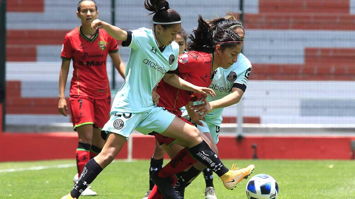 ¿Por qué Toluca femenil juega de local con uniforme verde agua?