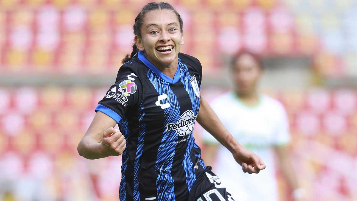 Liga MX Femenil: Jaqueline García hace un golazo de chilena y festeja como Cristiano