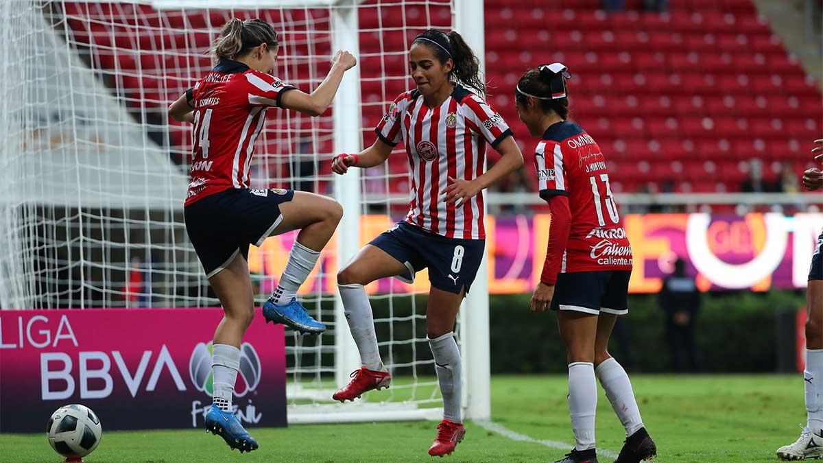 Liga MX Femenil: Alicia Cervantes y Caro Jaramillo celebran gol al estilo de Bravo-'Venado' Medina
