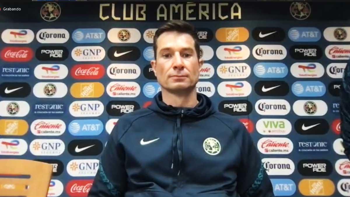 Liga MX Femenil: Craig Harrington, DT del América, tranquilo pese al empate ante Pumas