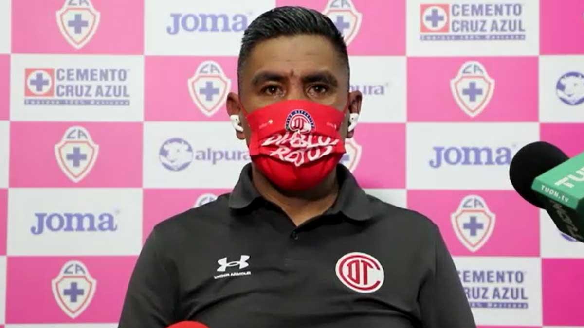 Liga MX Femenil: Alberto Cuate cree que sólo el trabajo sacará adelante a Toluca