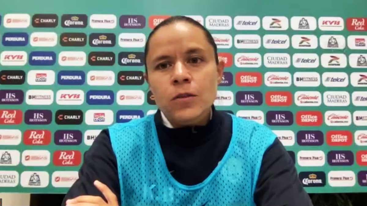 Liga MX Femenil: Karina Báez, DT de Pumas, quería sumar de a tres en León