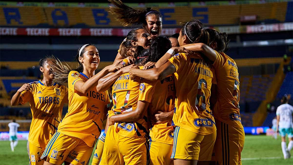 Katty Martínez bromea a sus compañeras en Tigres y las deja sorprendidas