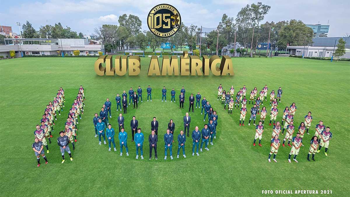 América festeja su aniversario 105 con una foto oficial muy especial