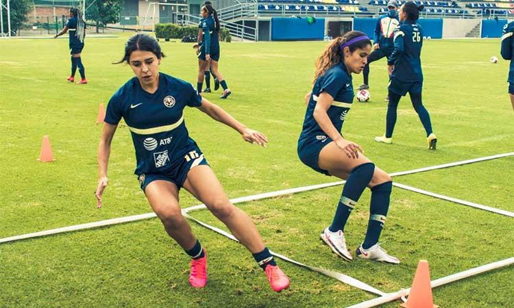 Jennifer Muñoz: así es un día de entrenamiento con la 18 del América femenil