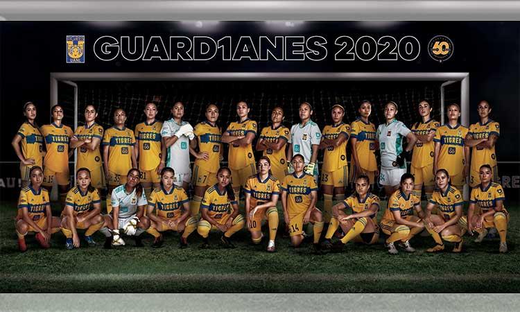Tigres Femenil Presenta Su Foto Oficial Del Apertura 2020 Espartanas Mx