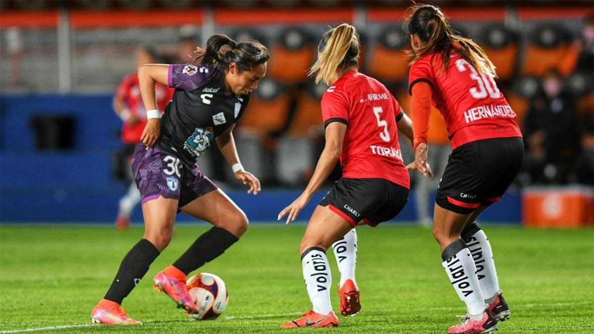 Pachuca derrota en casa 2-1 a Xolos Femenil