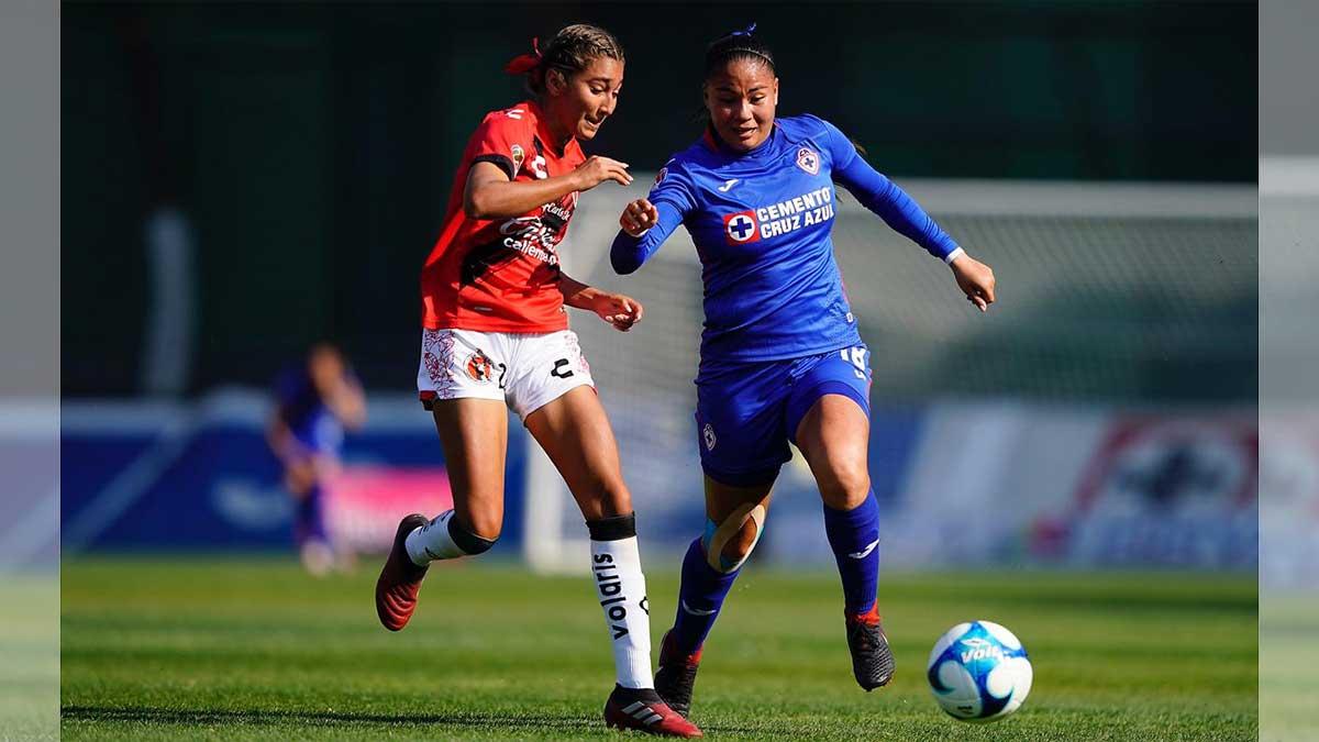 Cruz Azul y Xolos Femenil igualan sin goles en La Noria