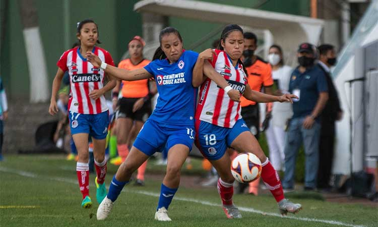 Cruz Azul femenil vence al A. de San Luis y sigue invicto en el Clausura 2021