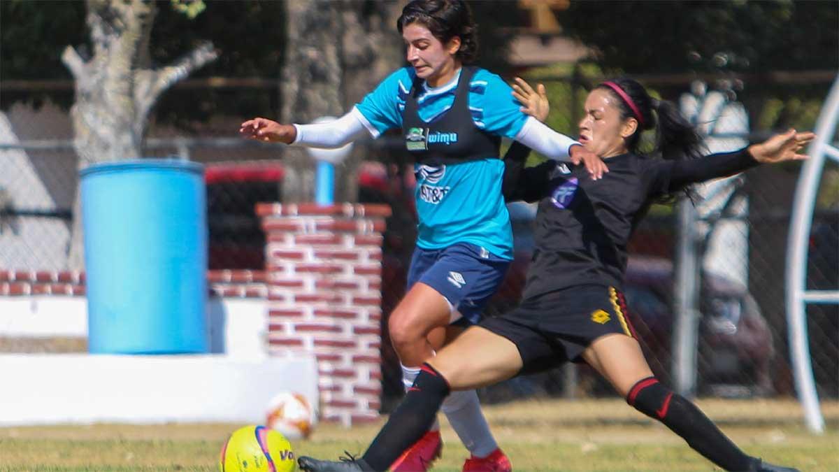 El Puebla Femenil derrotó 3-0 a Petroleros FC en duelo amistoso