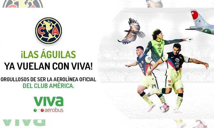 Viva Aerobus, patrocinador oficial del Club América