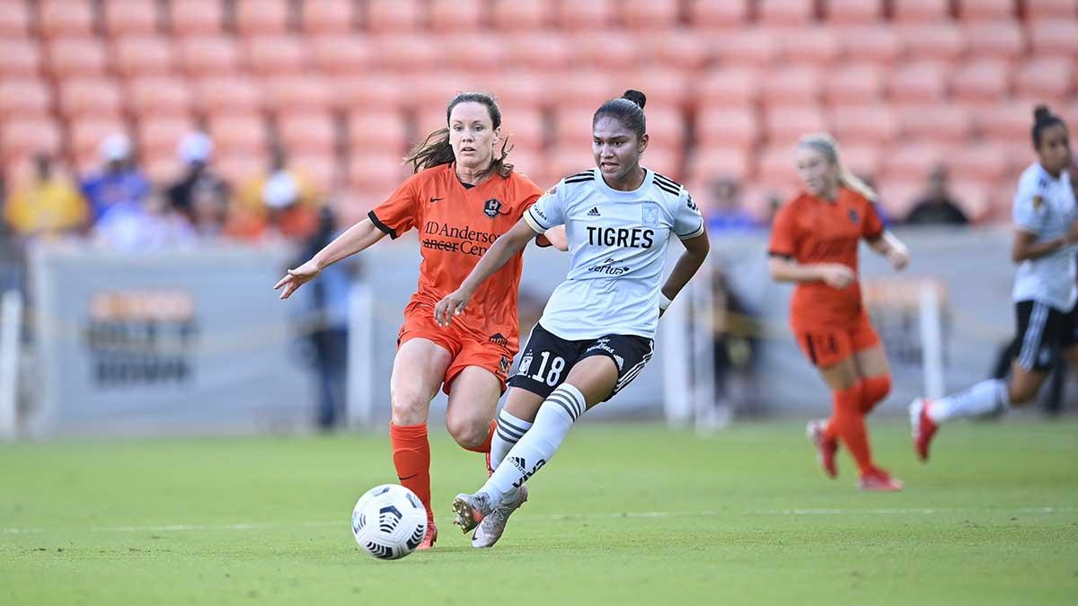 Tigres Femenil fue goleado 5-1 por el Houston Dash en duelo amistoso