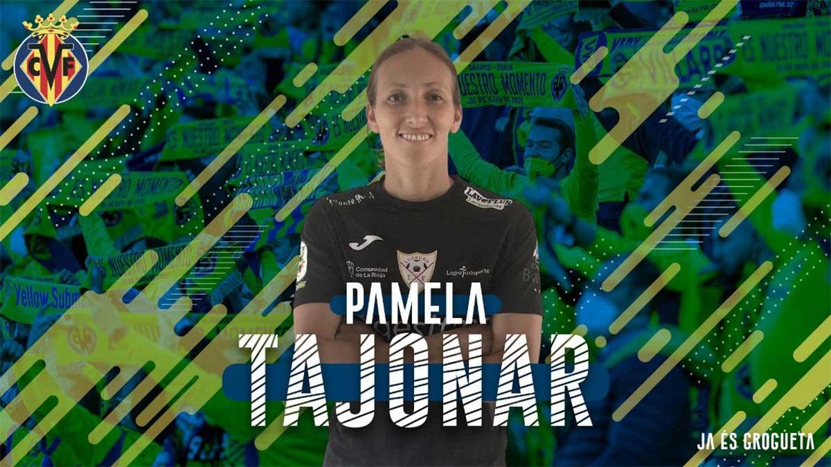 Pamela Tajonar, nuevo fichaje del Villarreal Femenino
