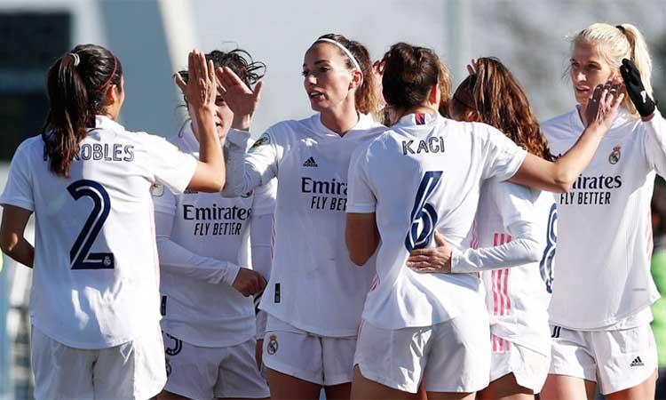 Kenti Robles titular en el primer triunfo del Real Madrid femenino en 2021  - Espartanas MX