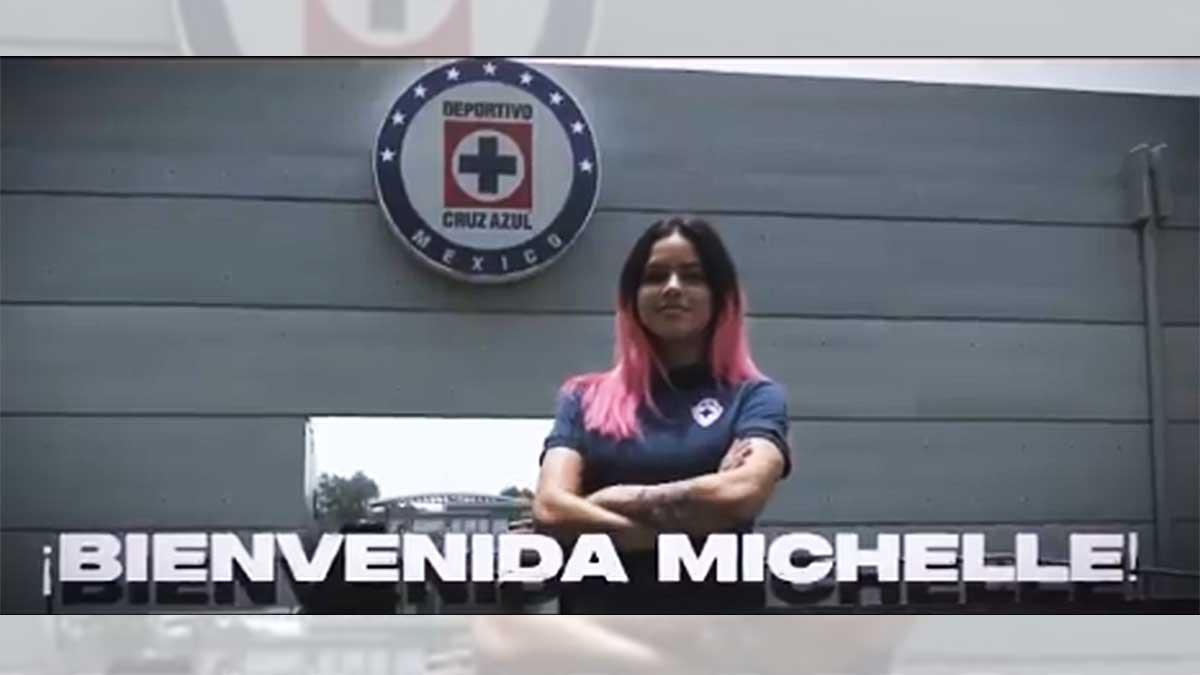 Michelle Montero: Es un orgullo llegar a Cruz Azul femenil