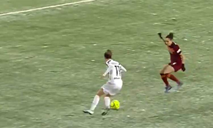 Ni el frío ni la nieve detienen a la Juventus